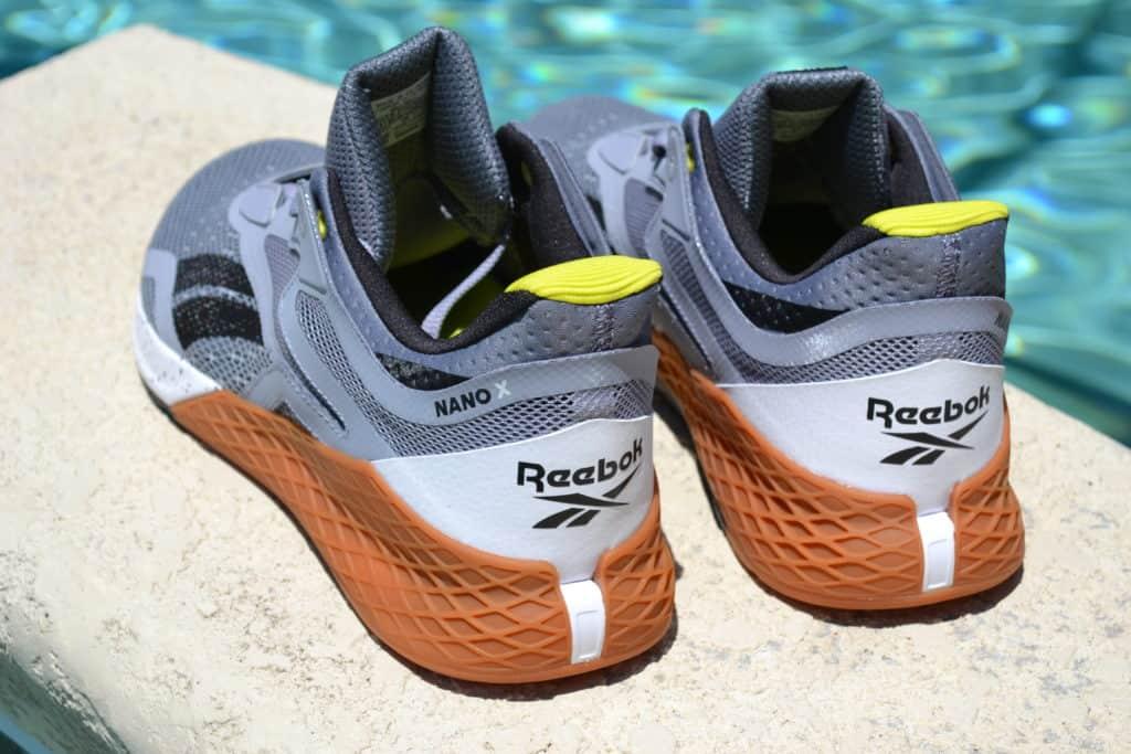 Reebok Nano X Cross Training Shoe - Heel View