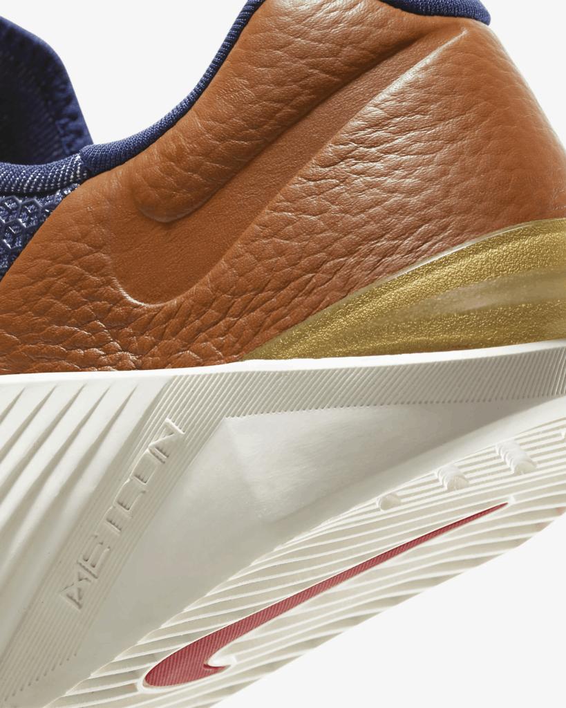 Nike Metcon 5 AMP versus Nike Metcon 5 - premium styling heel view