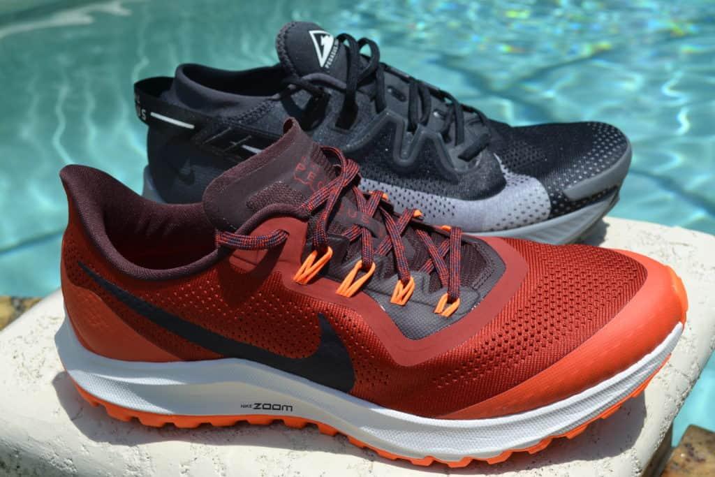 Nike Pegasus Trail 2 Running Shoe Versus Pegasus 36 Trail - Side by side
