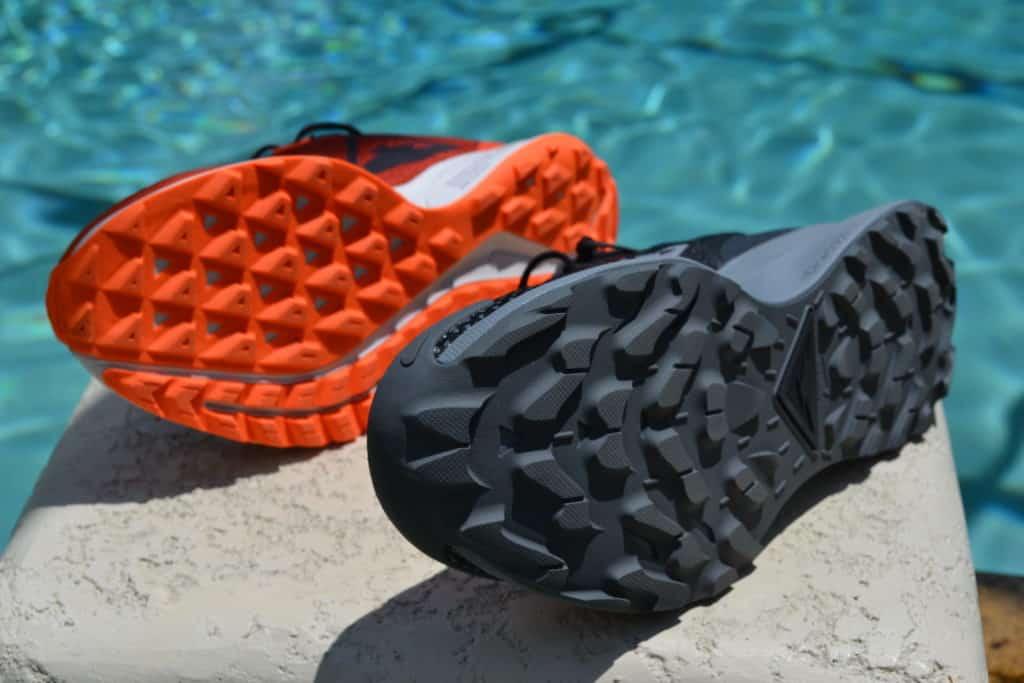 Nike Pegasus Trail 2 Running Shoe Versus Pegasus 36 Trail Sole to Sole