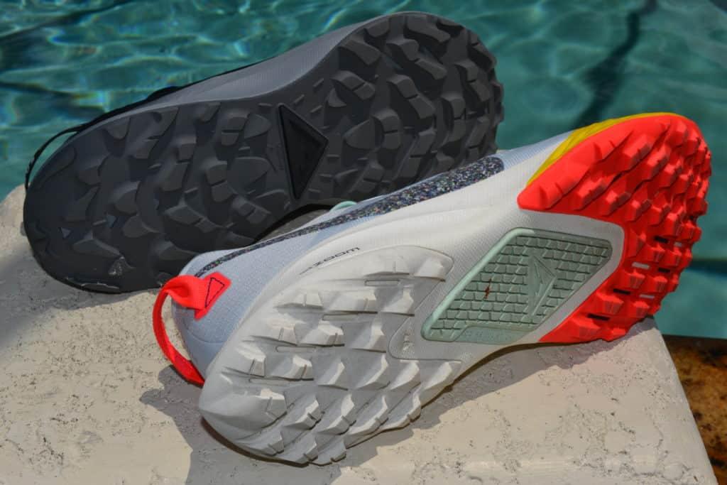 Nike Pegasus Trail 2 Running Shoe Versus Terra Kiger 6 - sole to sole