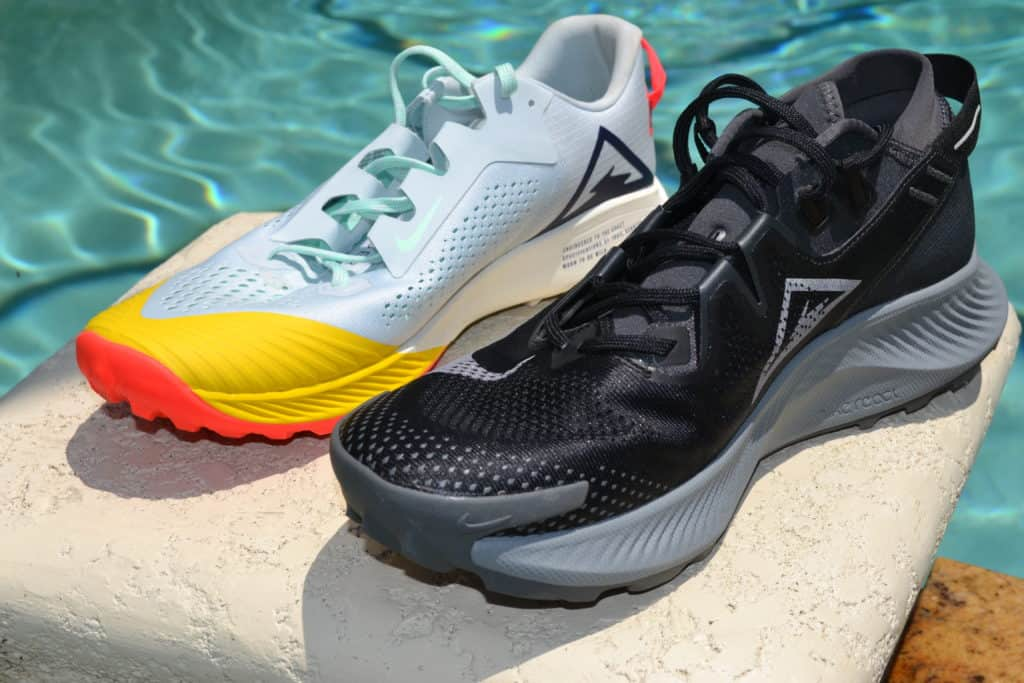 Nike Pegasus Trail 2 Running Shoe Versus Terra Kiger 6 - Other Side