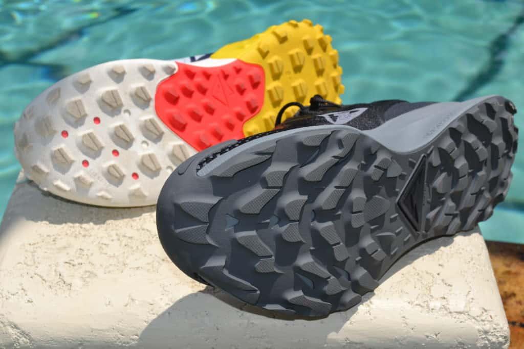 Nike Pegasus Trail 2 Running Shoe Versus Wildhorse 6 - Sole to sole