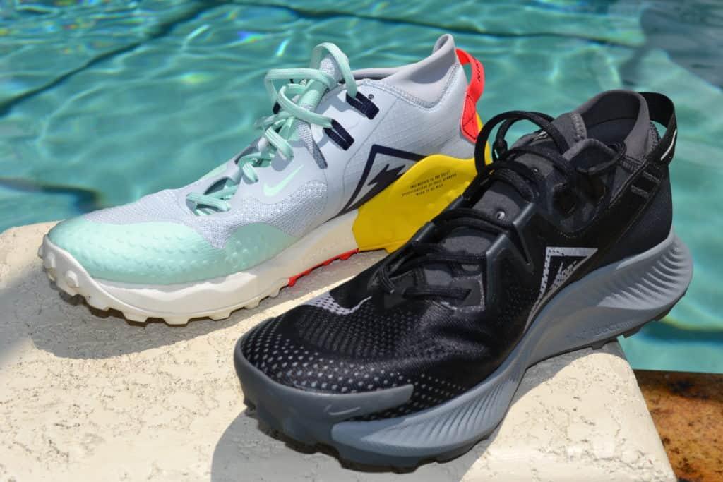 Nike Pegasus Trail 2 Running Shoe Versus Wildhorse 6 - Side by Side
