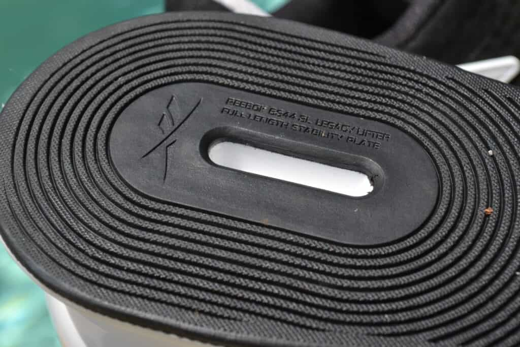 Reebok Legacy Lifter II - Olympic Weightlifting Shoe Sole Heel Closeup
