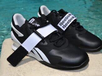 Reebok Legacy Lifter II - Olympic Weightlifting Shoe - Strap undone