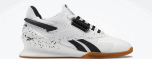 Reebok Legacy Lifter II Women's Weightlifting Shoes in White / Black / Reebok Lee 7 Other Side