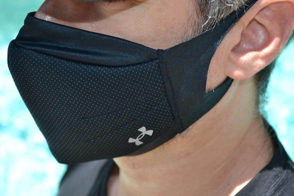 The best facemask for athletes and fitness enthusiasts?  Probably the UA SPORTSMASK
