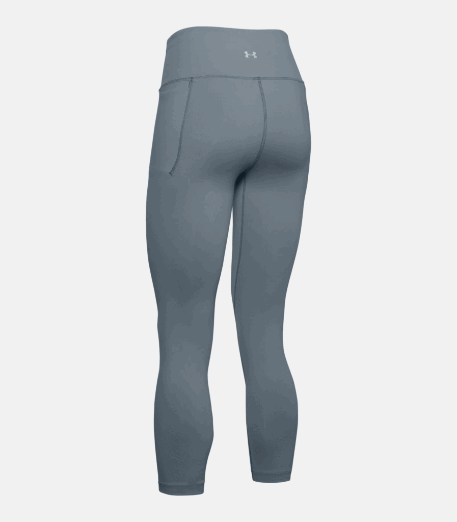 Women's UA Meridian Crop - Workout Legging in Hushed Turquoise back