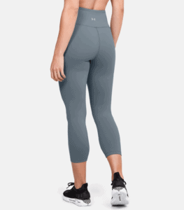Women's UA Meridian Crop - Workout Legging in Hushed Turquoise rear
