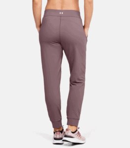 UA Meridian Joggers - Hushed Pink From Behind