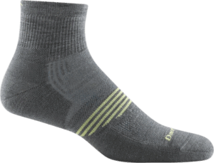 Darn Tough 1/4 Sock Lightweight with Cushion - great athletic sock for CrossFit and more!