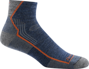Darn Tough Hiker 1/4 Sock with Cushion