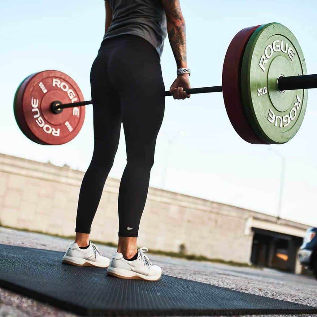 GORUCK Women's Tough Leggings - Barbell Deadlift