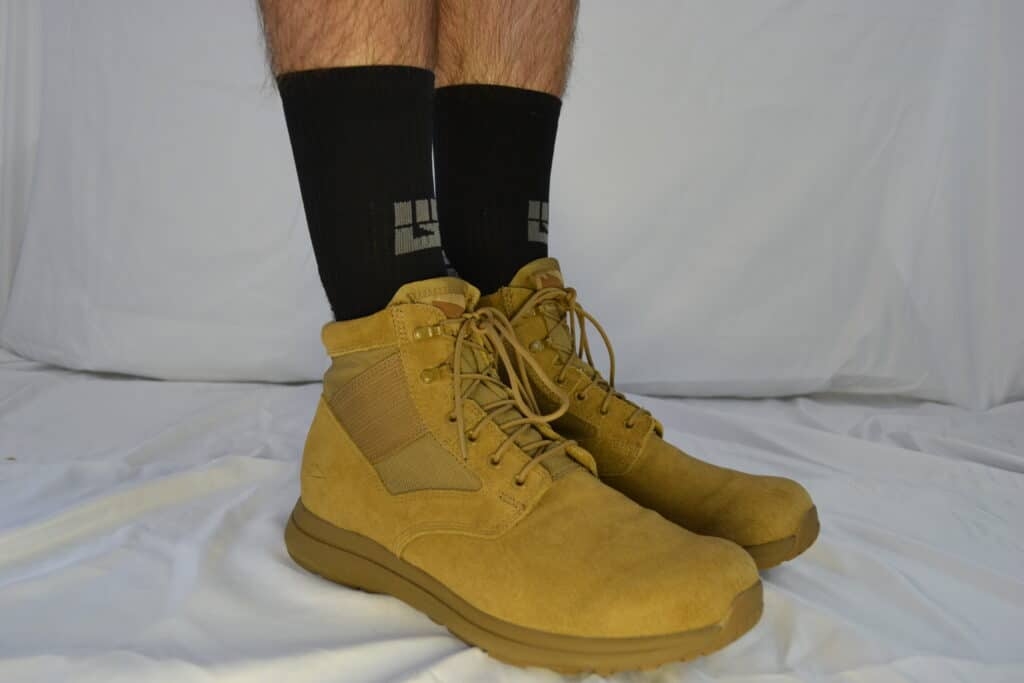 MudGear Ruck Sock - with MACV-1 Coyote boot