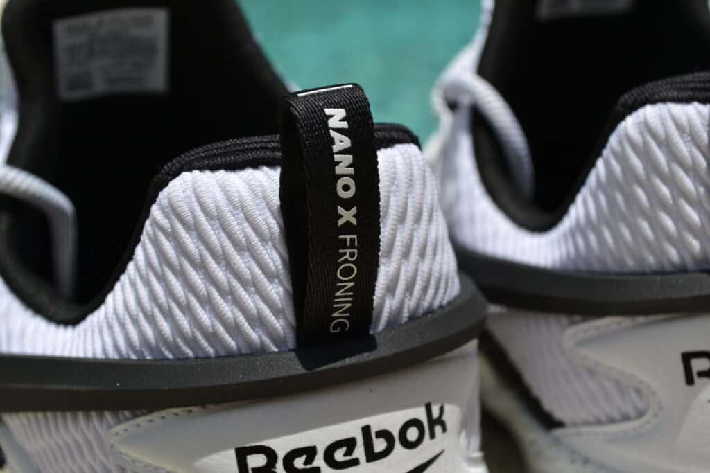 Reebok Nano X Froning Pull Tab on the Heel