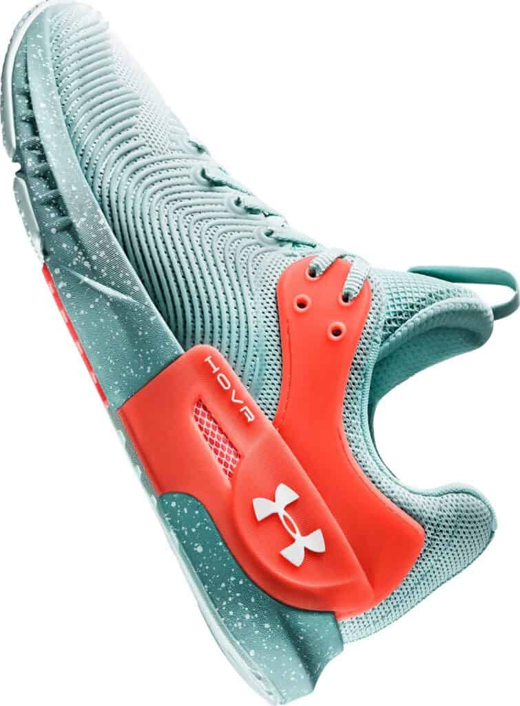 UA HOVR Apex 2 Training Shoes - Lichen Blue - Halo Gray