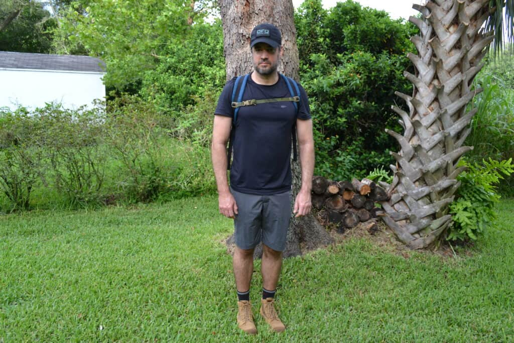Simple Shorts - ruck march testing