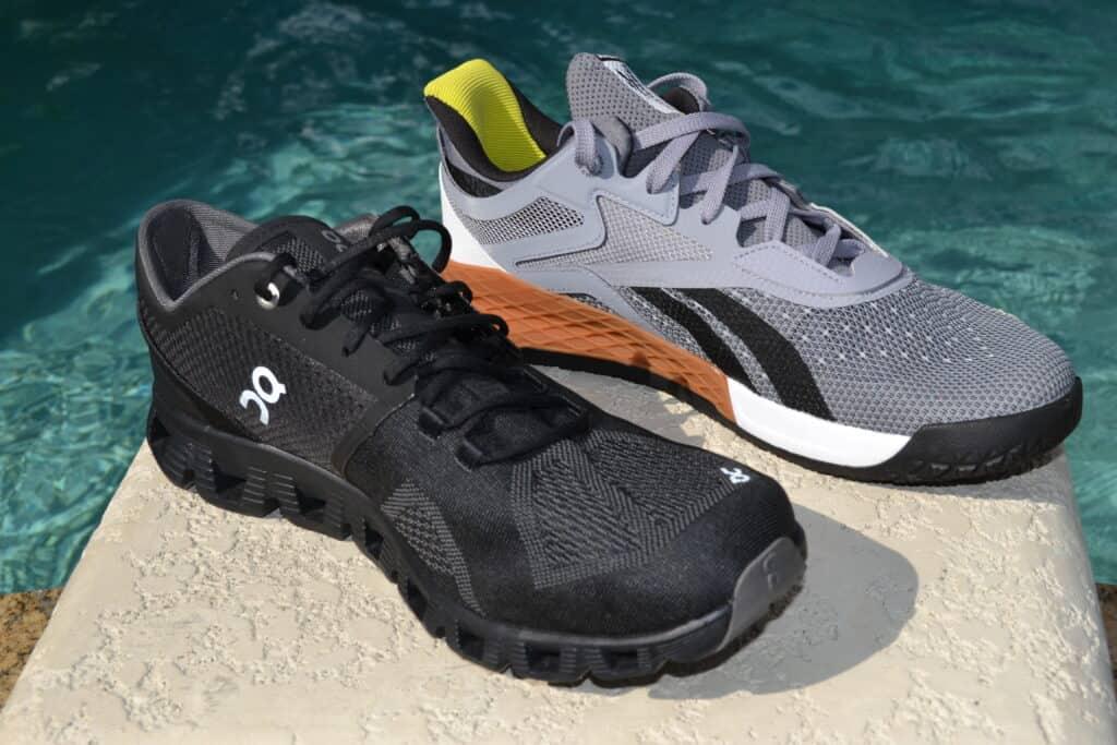 Cloud X Versus Reebok Nano X - Training Shoes - Side by Side 1