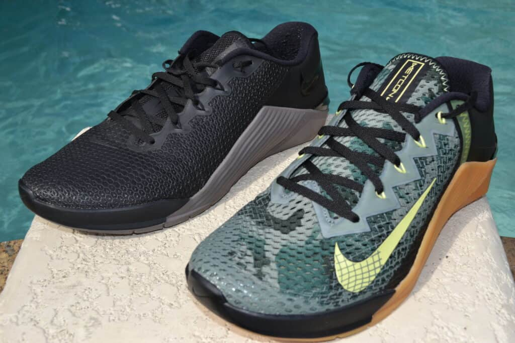 Nike Metcon 6 vs Nike Metcon 5 - pretty much the same