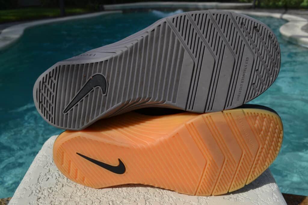 Nike Metcon 6 Versus Nike Metcon 5 - Outsole comparison