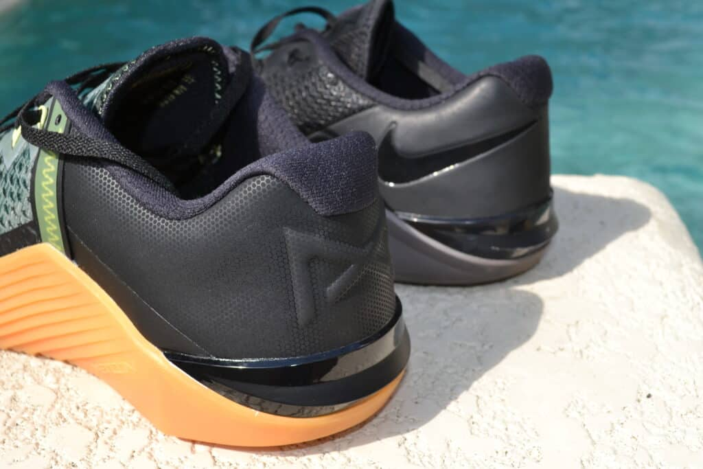 Nike Metcon 6 vs Nike Metcon 5 - heel is the same
