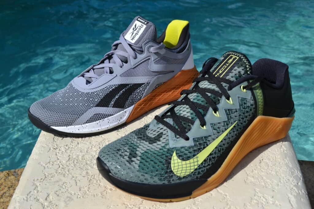 Nike Metcon 6 Versus Reebok Nano X
