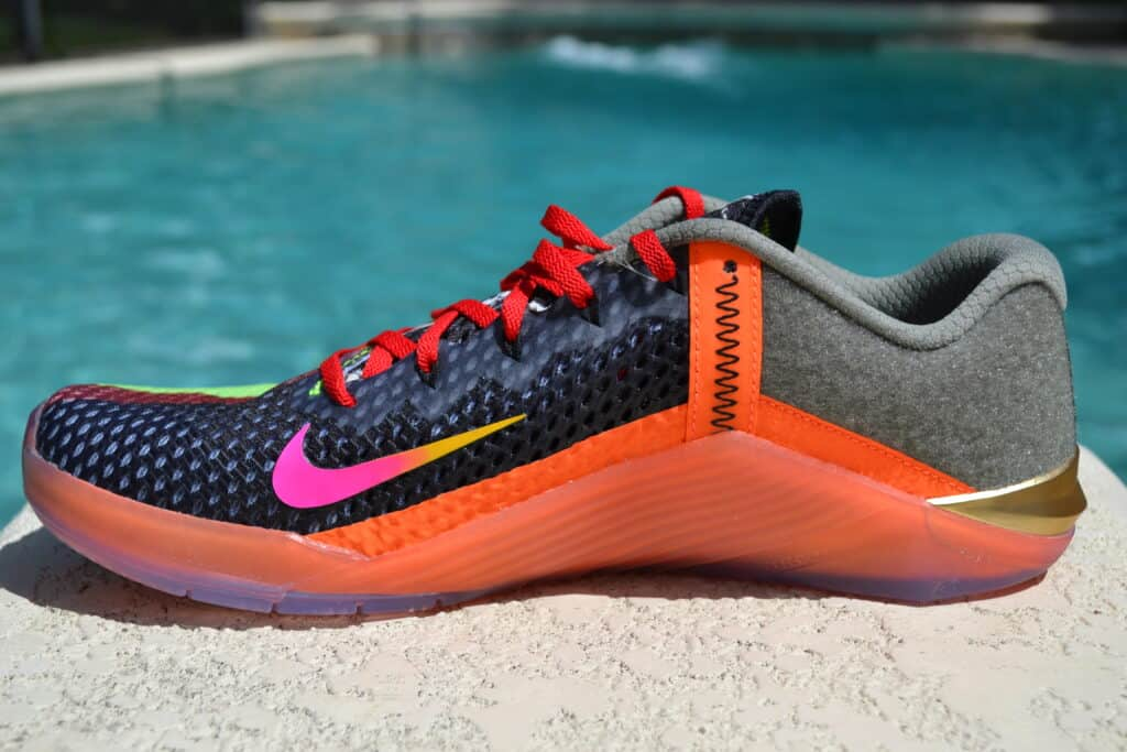 Nike Metcon 6 X What the Metcon Knows Shoe Review side view 2