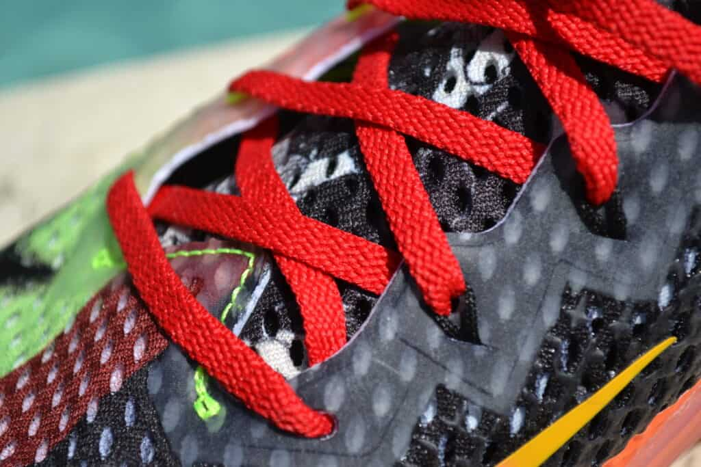 Nike Metcon 6 X What the Metcon Knows Shoe Review laces closeup