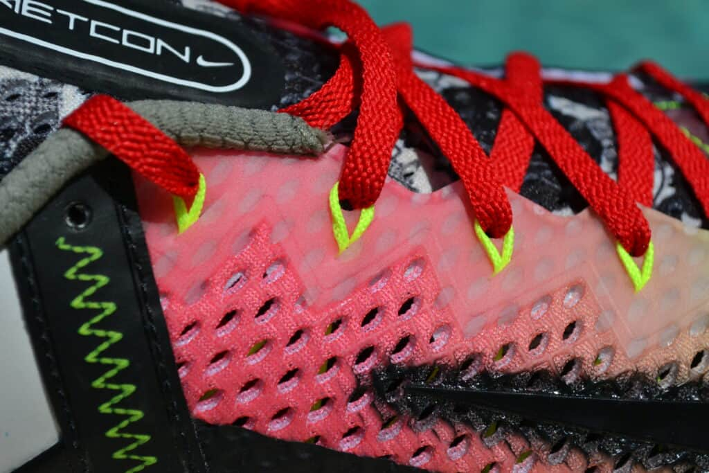 Nike Metcon 6 X What the Metcon Knows Shoe Review laces view 2