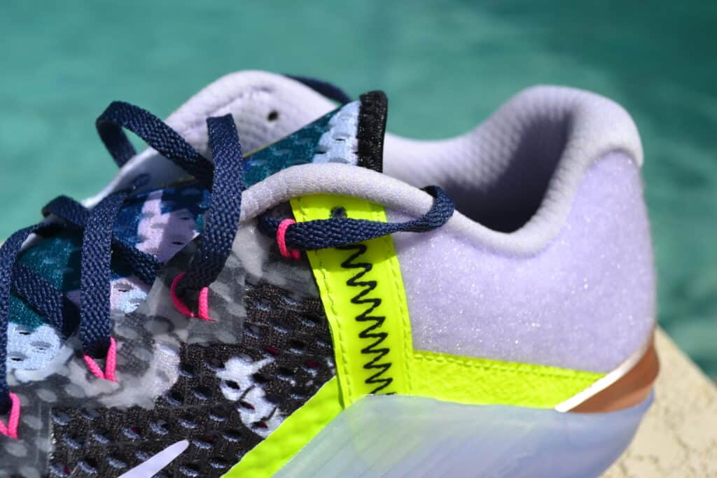 Nike Metcon 6 X What the Metcon Knows Shoe Review collar view 1