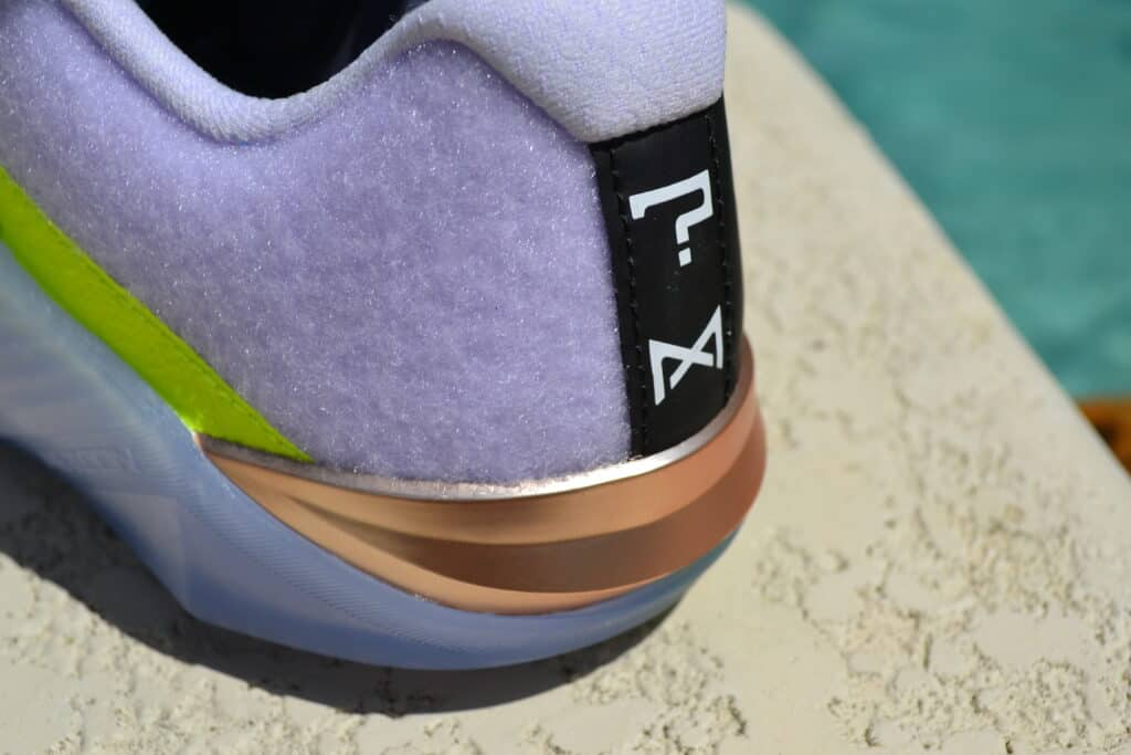 Nike Metcon 6 X What the Metcon Knows Shoe Review heel closeup