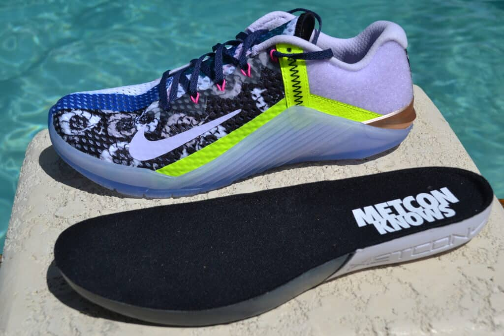 Nike Metcon 6 X What the Metcon Knows Shoe Review with midsole