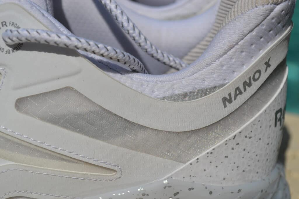 Reebok Nano X PR Shoe Review - Collar Closeup