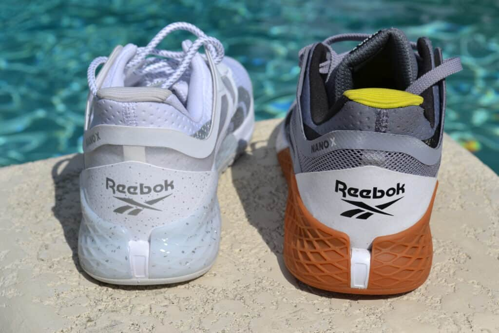 Reebok Nano X PR Versus Nano X Regular Review - Heel to Heel