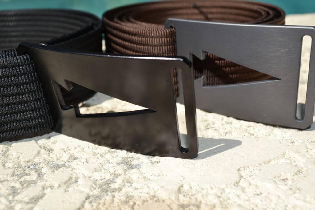 GORUCK Spearhead Web Belt Black Buckle Closeup