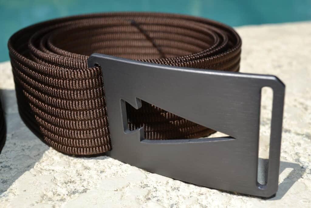 GORUCK Spearhead Web Belt Brown Buckle