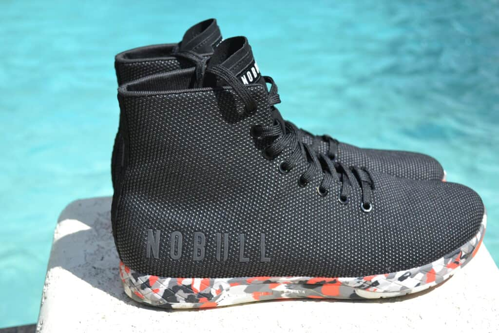 NOBULL High Top Trainer in Wild Storm Drop