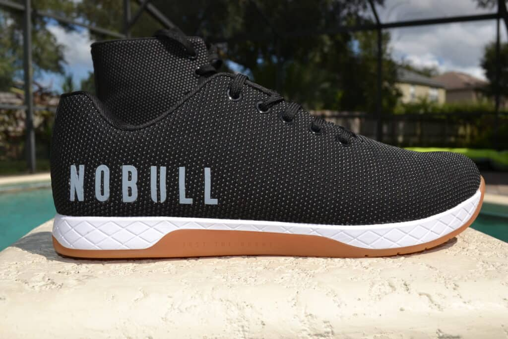 NOBULL High Top Trainer Versus Trainer Low Side