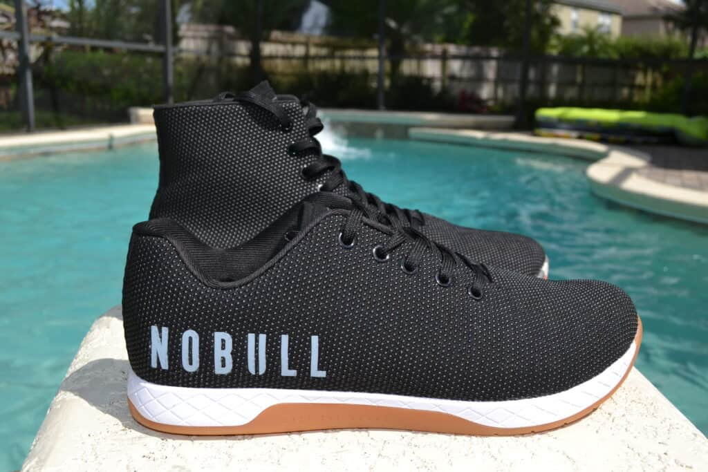 NOBULL High Top Trainer Versus Trainer Low - Side by Side