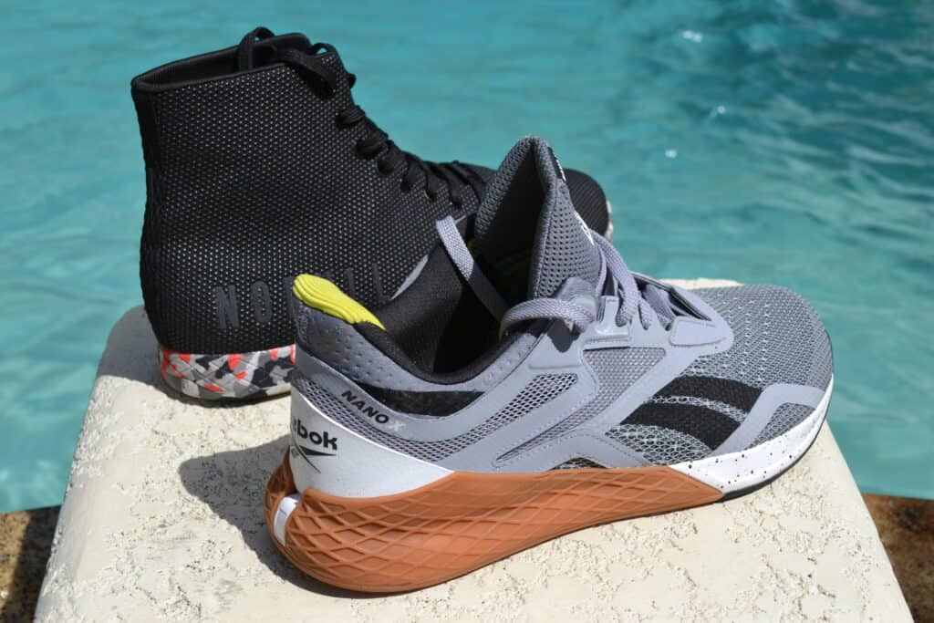 NOBULL High Top Trainer Versus Reebok Nano X - Weight