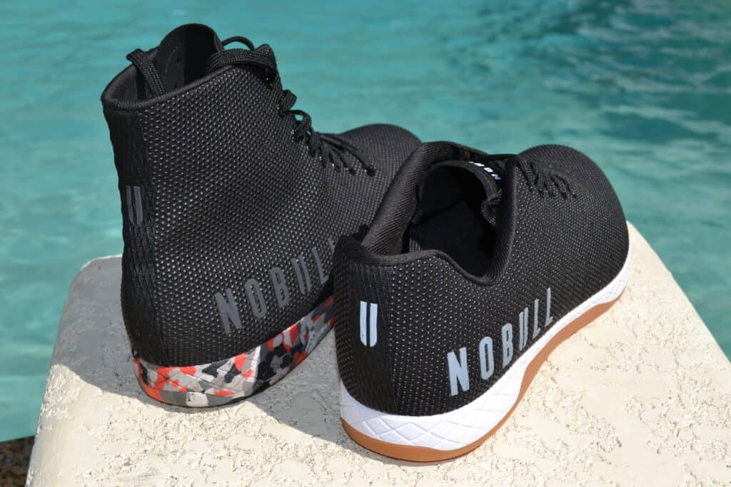 NOBULL High Top Trainer Versus Trainer Low Evolution