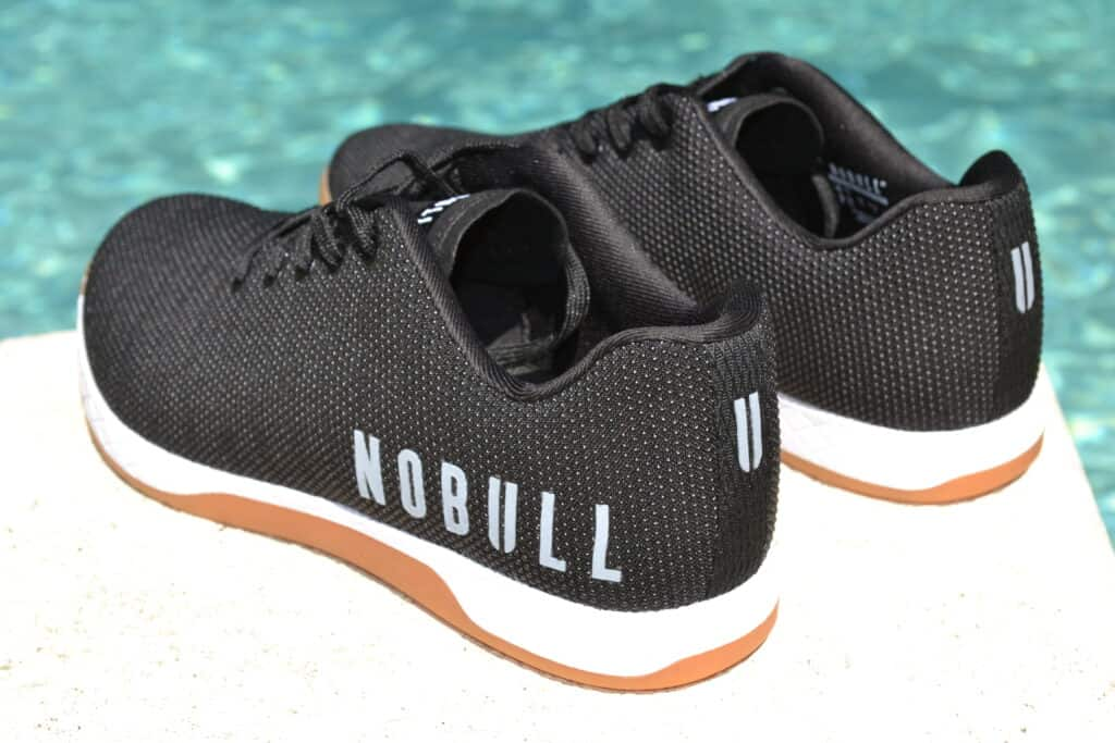 NOBULL Trainer Review Heel View