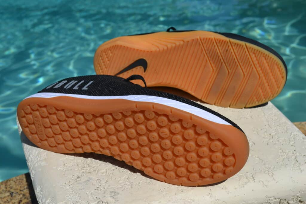 NOBULL Trainer Versus Nike Metcon 6 - Outsole