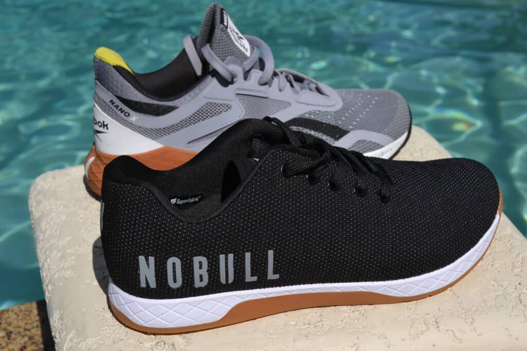 Reebok Nano X Versus NOBULL Trainer - Cushion