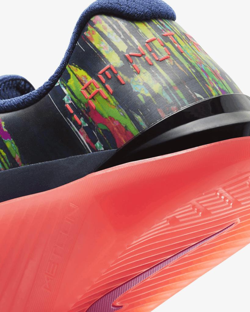 Nike Metcon 6 AMP Women's Heel closeup