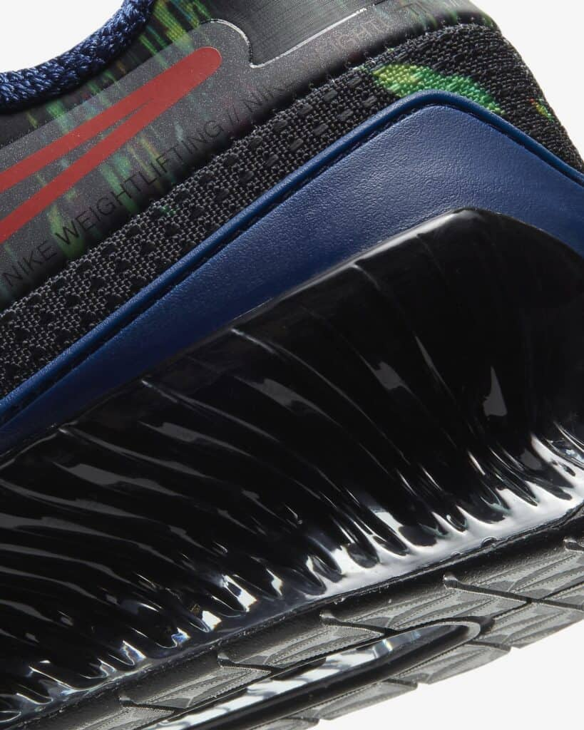 Nike Romaleos 4 AMP - Heel Closeup