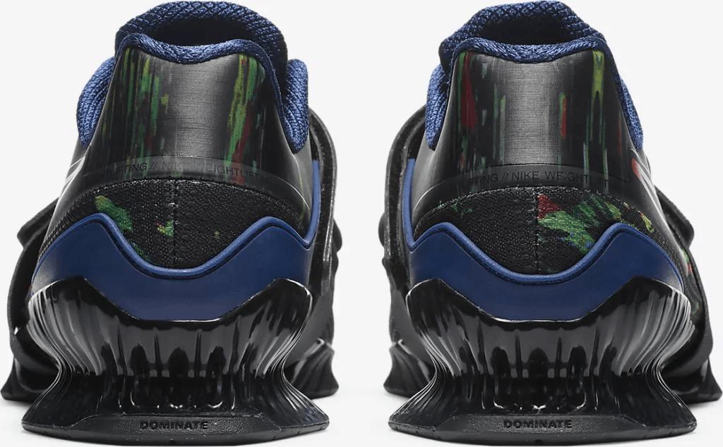 Nike Romaleos 4 AMP - Heel View