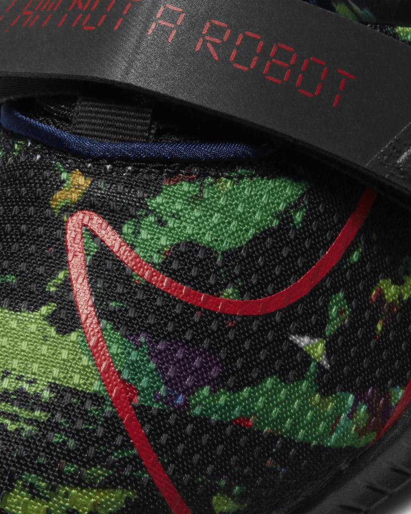 Nike Romaleos 4 AMP - Upper Closeup