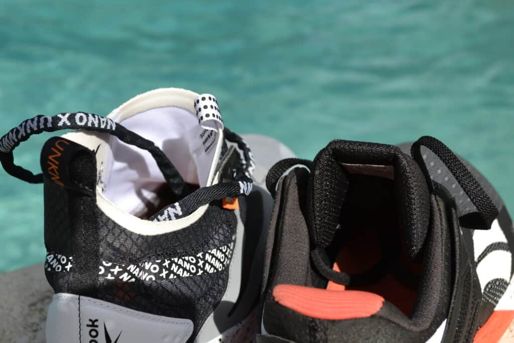 Reebok Nano X Unknown Shoe Review - Tongue Side by Side